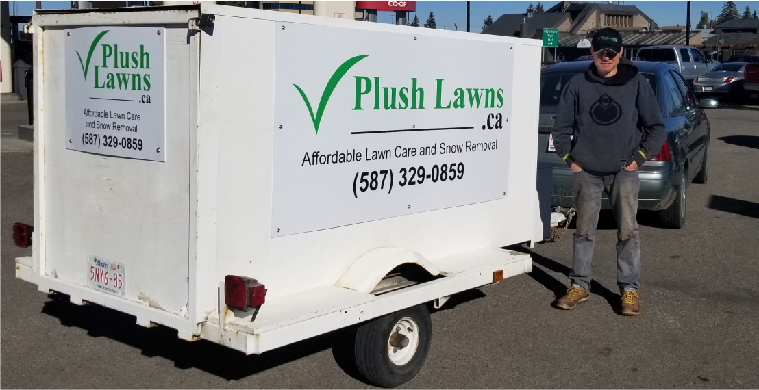 Plush Lawns Trailer